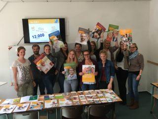 Die Bundesschülerratsvertreterin Lena Feldhaus besuchte die Lernenden der Ergo - Mittelstufe der Bildungsakademie für Therapieberufe