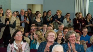 Die Freude ist allen anzusehen. Foto: SMMP/Bock