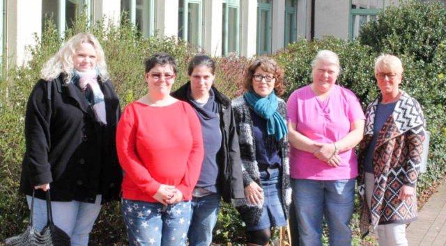 Teilnehmerinnen der Weiterbildung