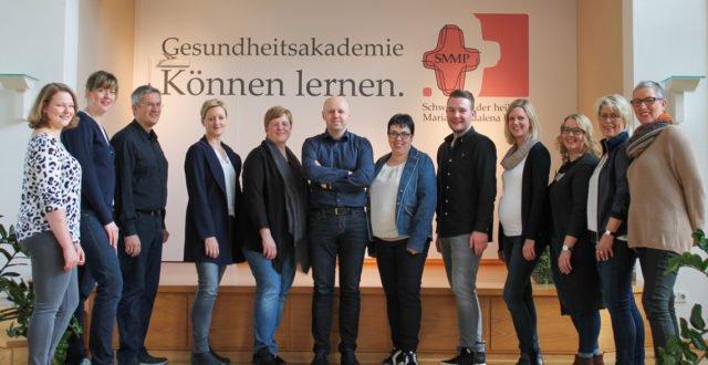 Das Team der Gesundheitsakademie SMMP